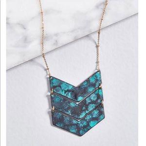 NWT ModCloth chevron necklace